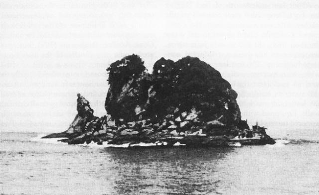 Beton csatahajó - El Freil-sziget