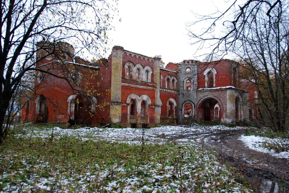 Красивейшие заброшенные усадьбы России