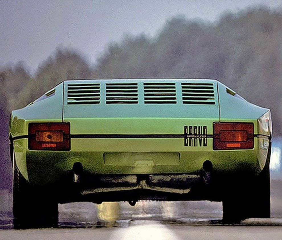 Концепт-кар Lamborghini Bravo 1974 года