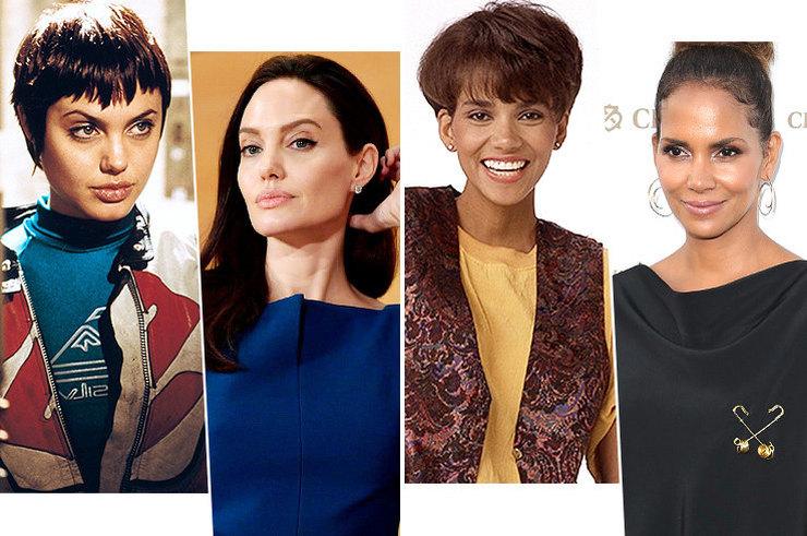 Знаменитые актрисы в первое появление на экранах и сейчас