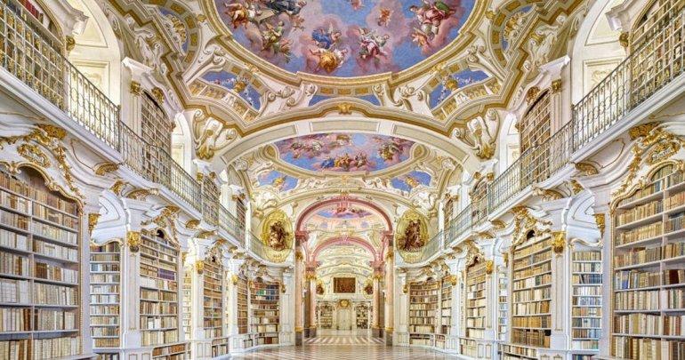 Самые красивые библиотеки Европы