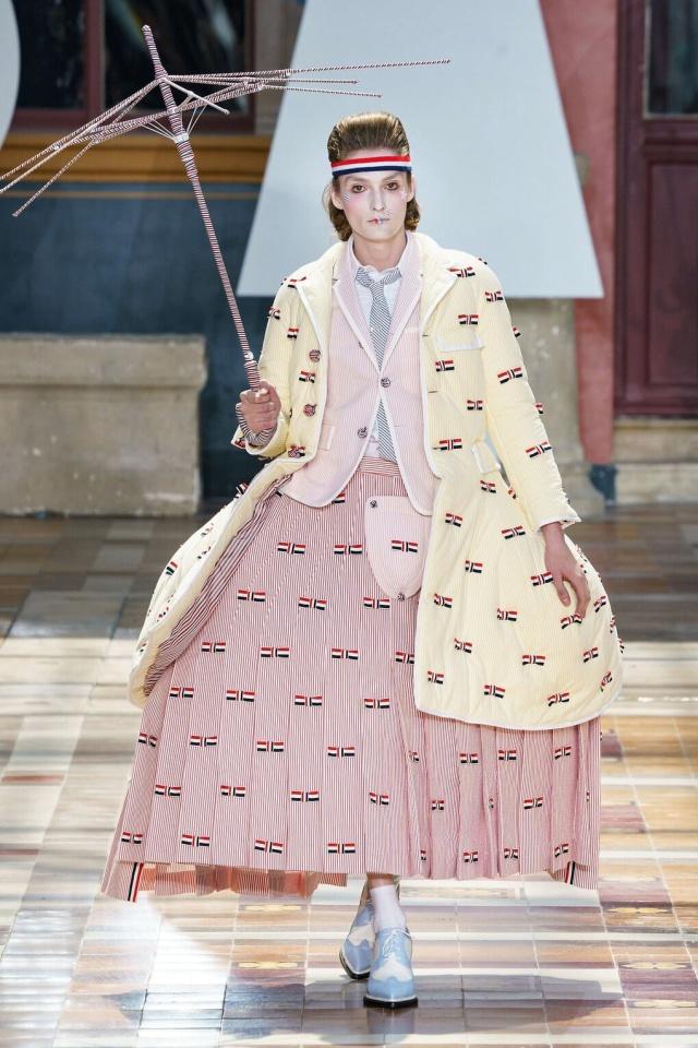 Странная мужская коллекция с Парижской недели моды (ФОТО)