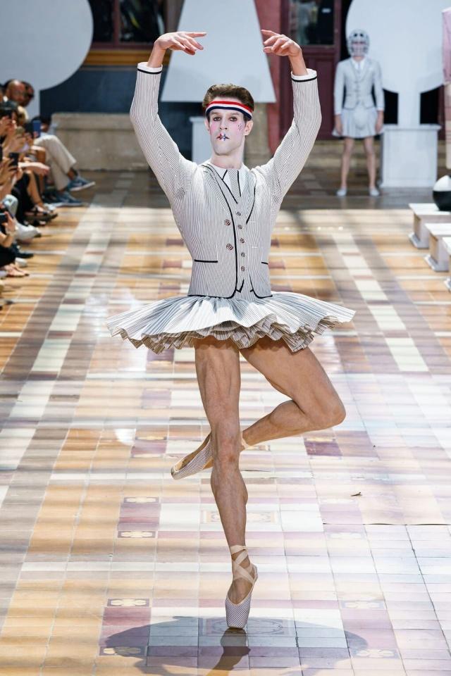 Странная мужская коллекция с Парижской недели моды