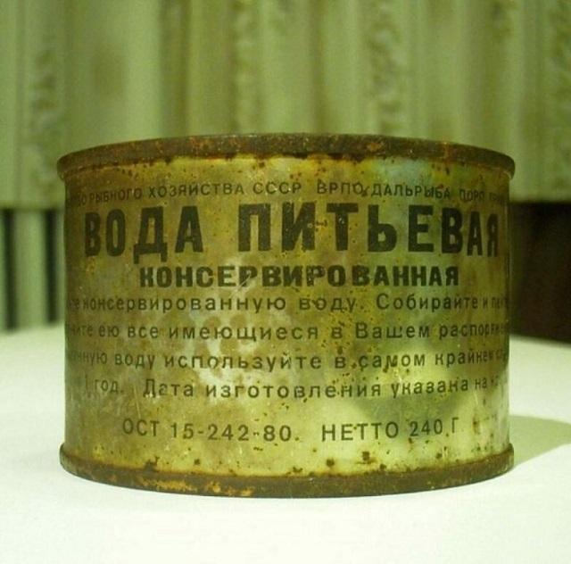 Воспоминания о продуктах эпохи СССР