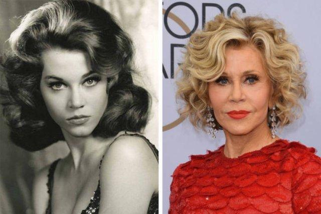Знаменитые красавицы и красавцы прошлого века тогда и сейчас