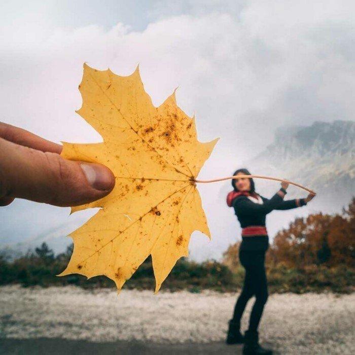 Крутые фотографии, на которых авторам помог удачный ракурс