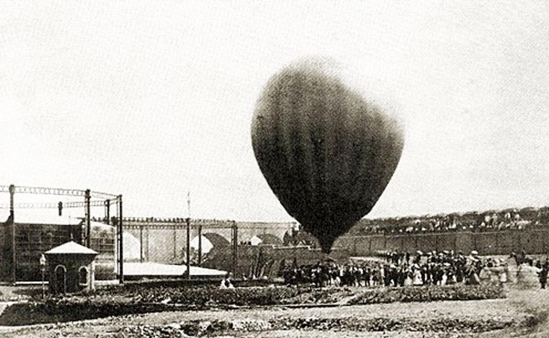 Путешествие на воздушном шаре 1862 года