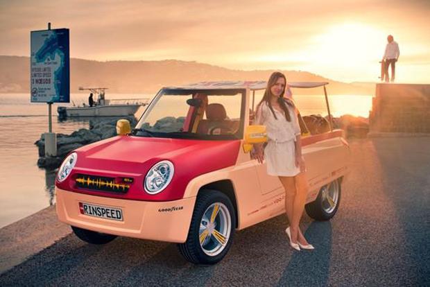 Rinspeed BamBoo - первый в мире интернет-автомобиль