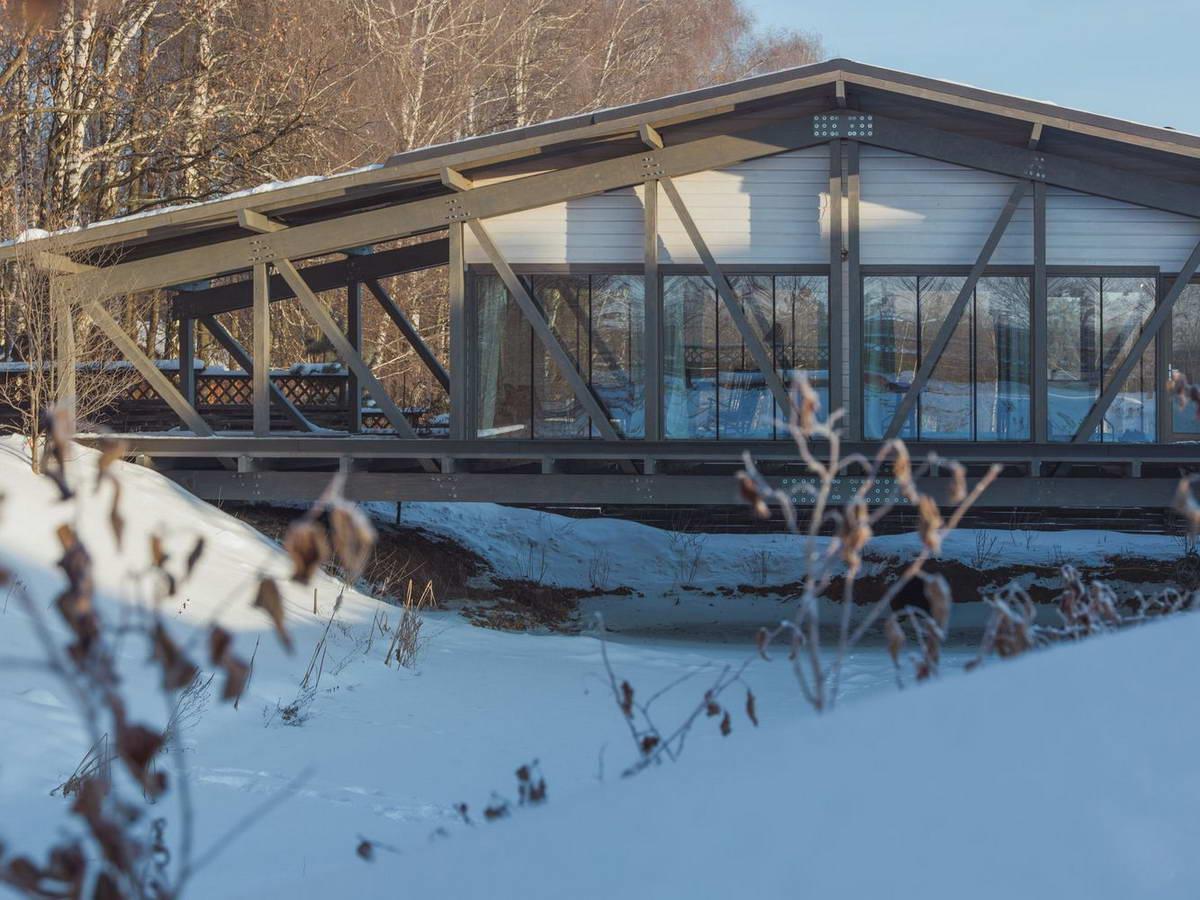 Дом-мост в Тульской области