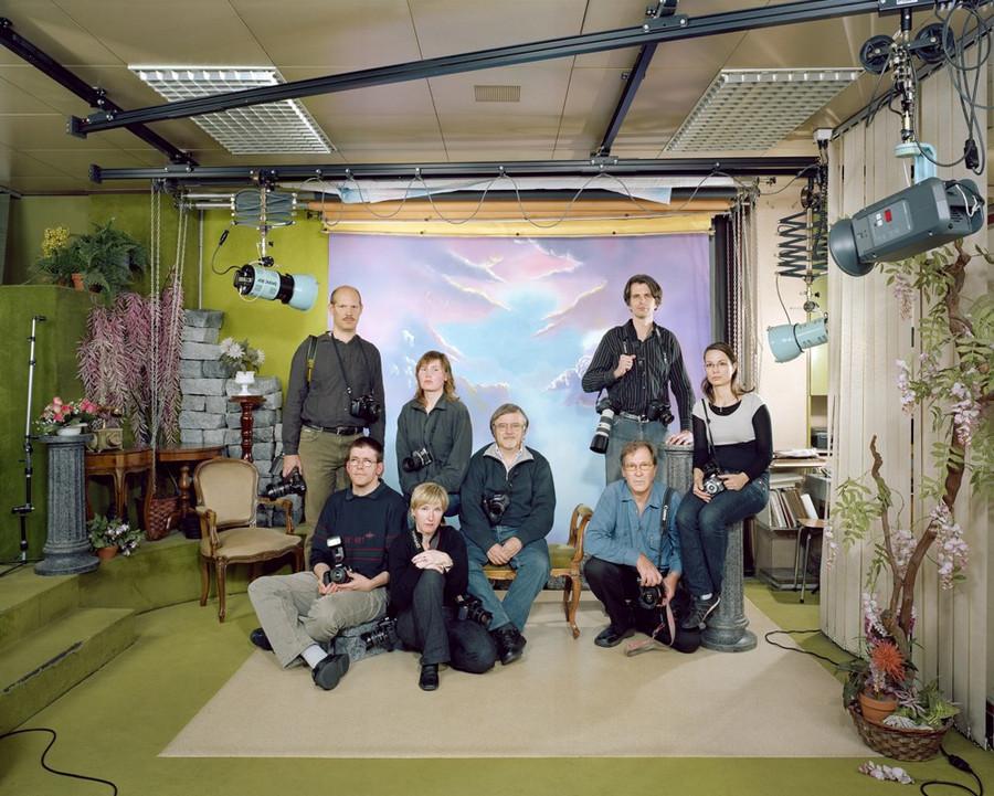 Фотопроект про людей с общим хобби от швейцарских фотографов