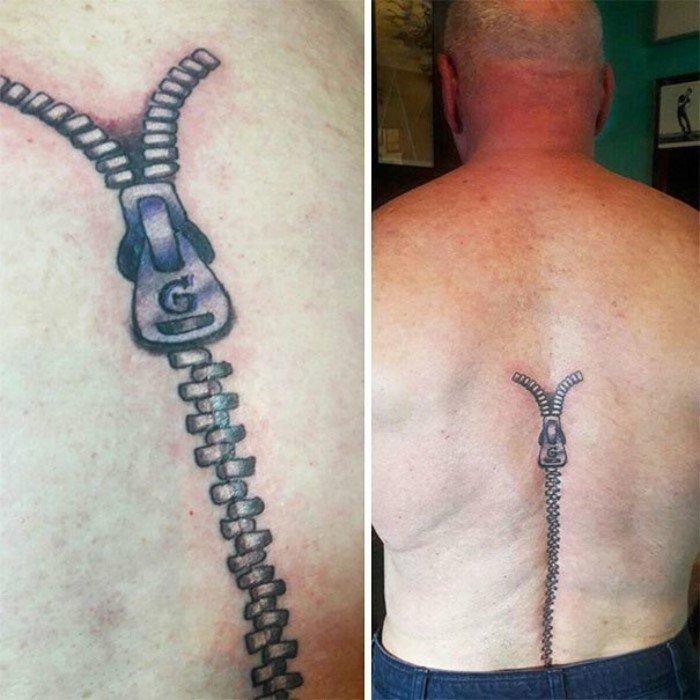 Мастера блестяще превратили шрамы в татуировки