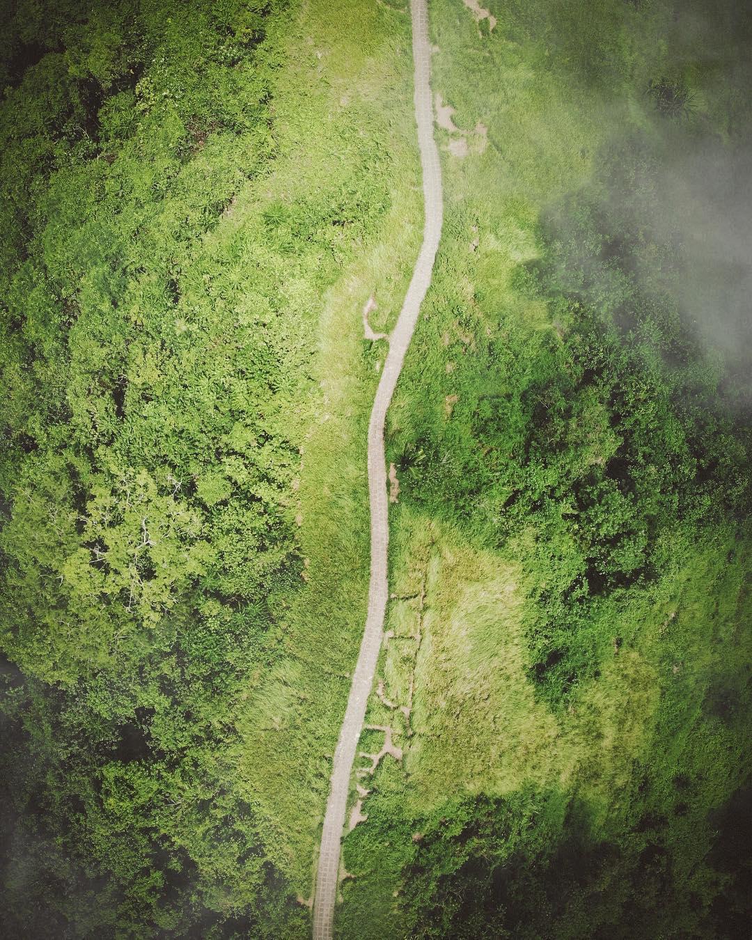 Азия с высоты на аэрофотоснимках Косуке Курата