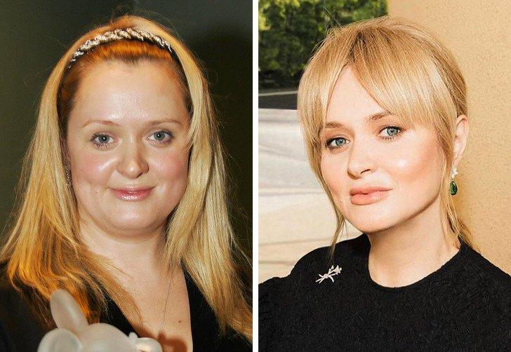 Российские артистки, которые сбросили лишние килограммы и помолодели на несколько лет
