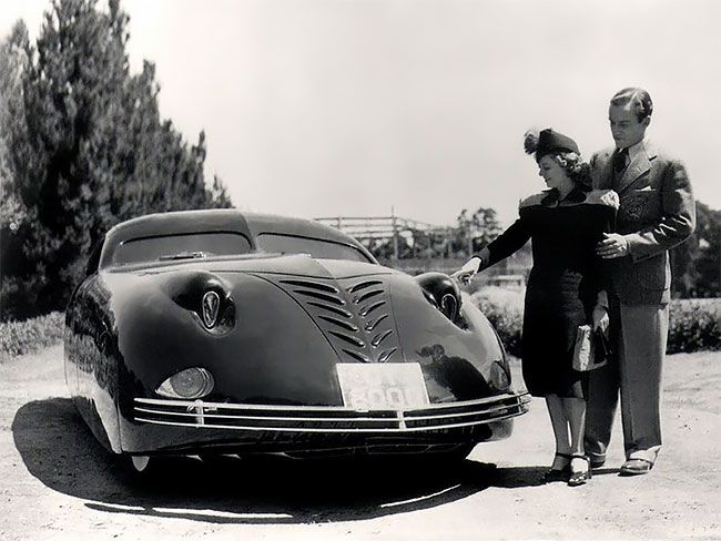 Phantom Corsair 1938 - невероятный автомобиль будущего