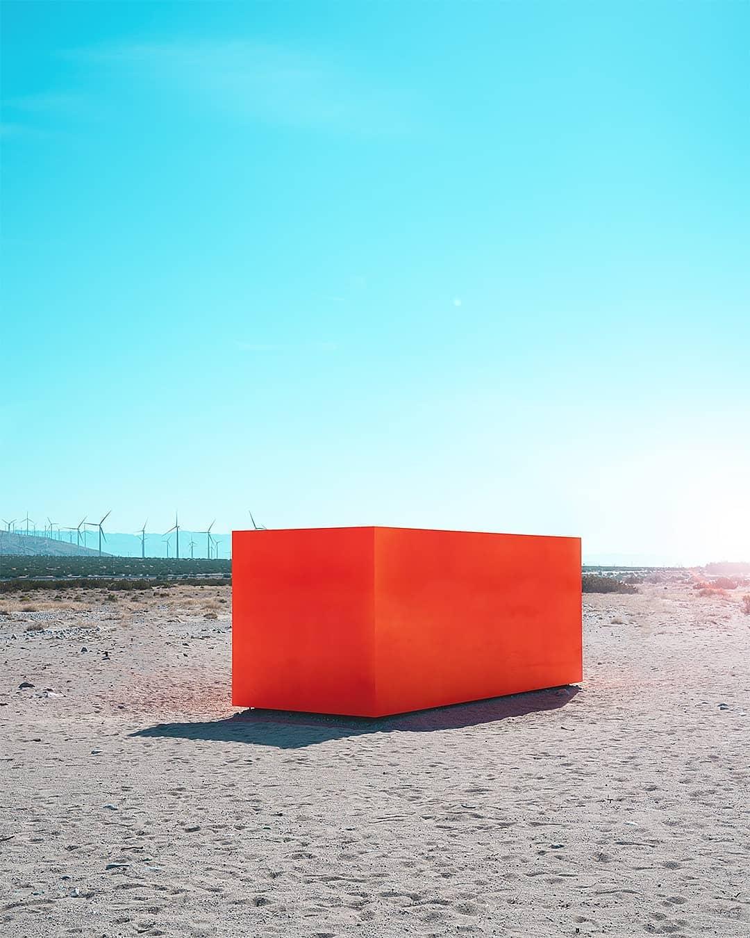 Яркие минималистские фото Тома Виндекнехта