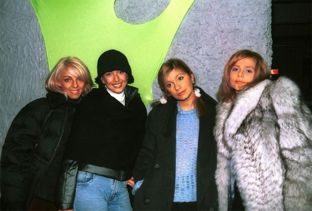 Российские знаменитости 90-х годов на снимках