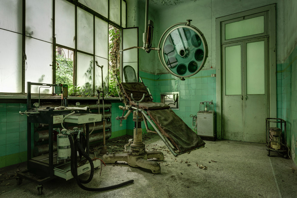 Заброшенные психиатрические лечебницы Италии