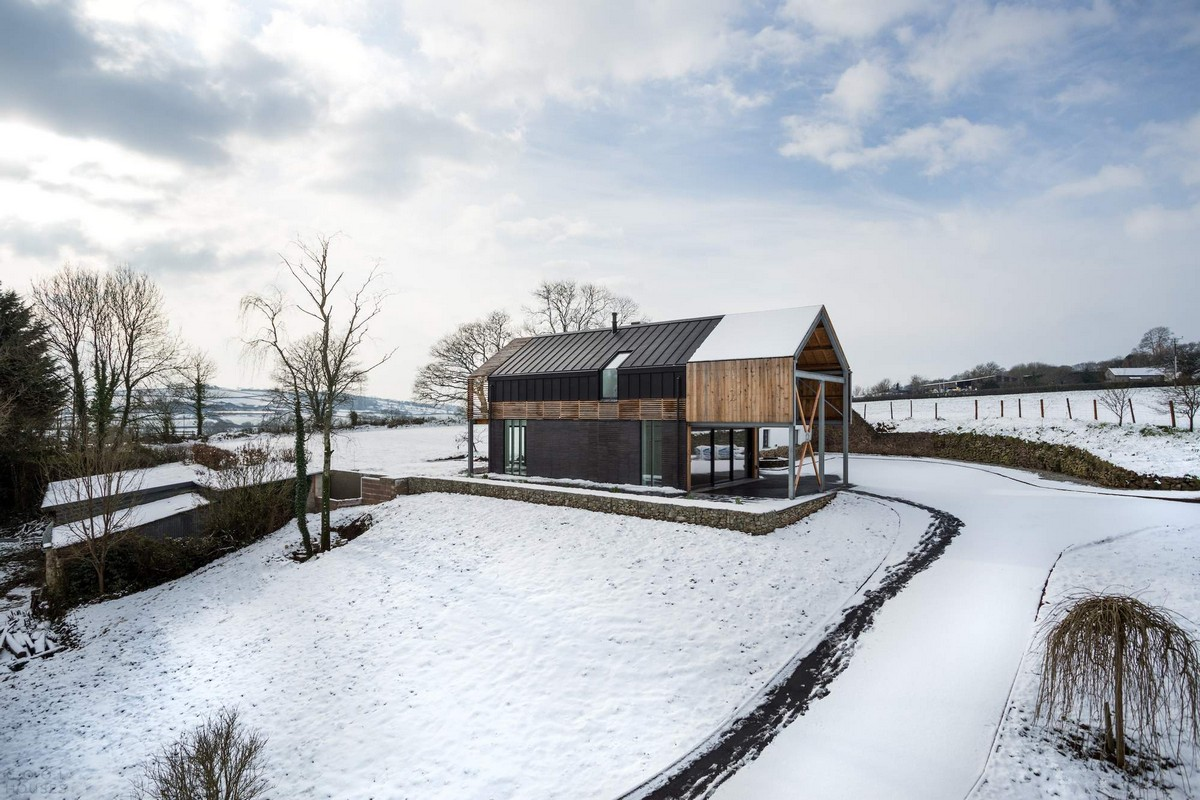 Адаптация фермерского дома в Великобритании для человека на инвалидной коляске