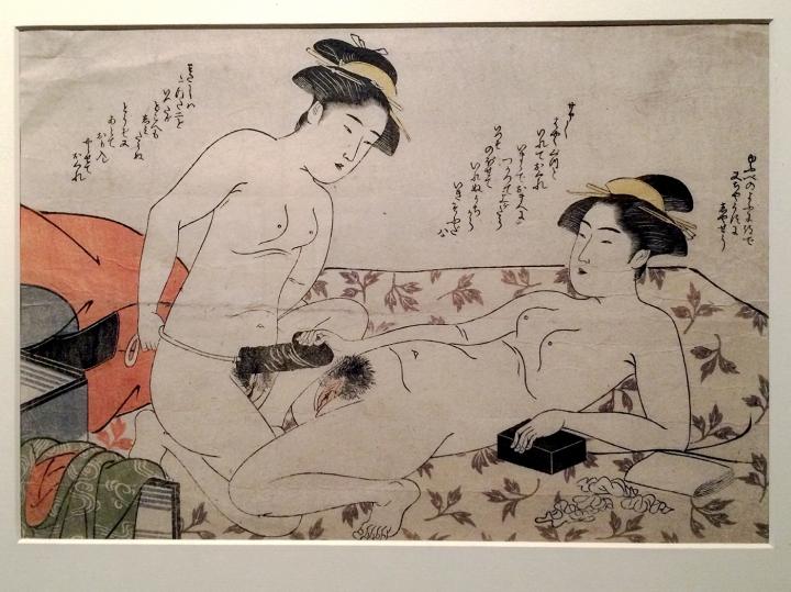 Очень странное отношение к сексу в средневековой Японии