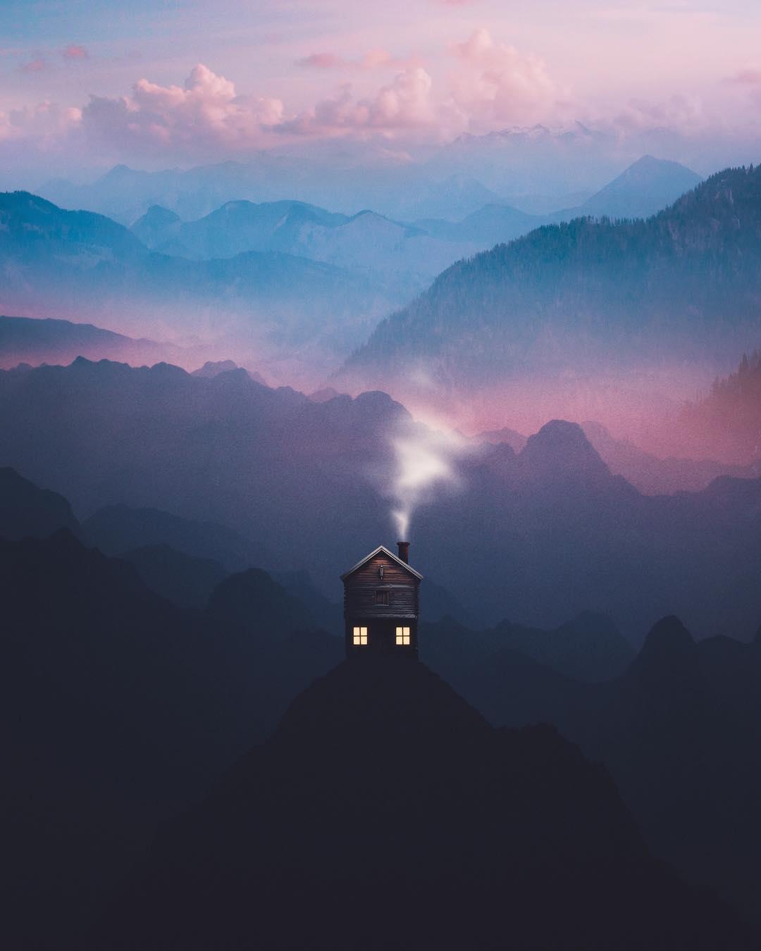 Удивительные фотоманипуляции от Анниса Тиара Утами
