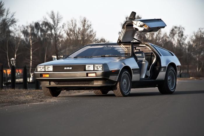 Интересные подробности об автомобиле DeLorean из фильма Назад в будущее