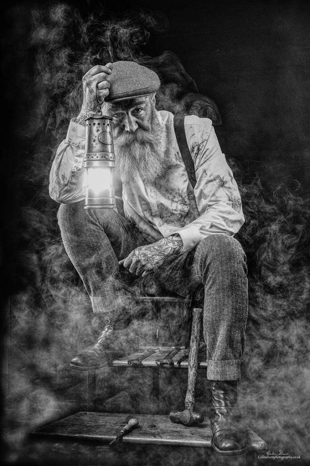 Пип Джентльмен стал успешной моделью после 50 лет