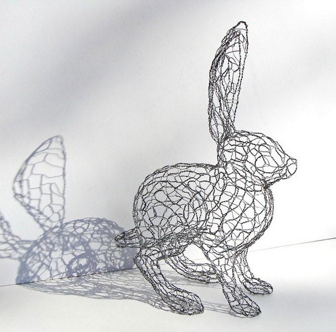 Проволочные скульптуры от Рут Дженсен