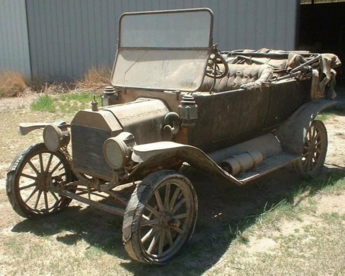В амбаре нашли Ford Model T, которому больше 100 лет