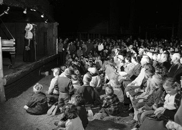 Американские летние лагеря в 50-е годы на снимках