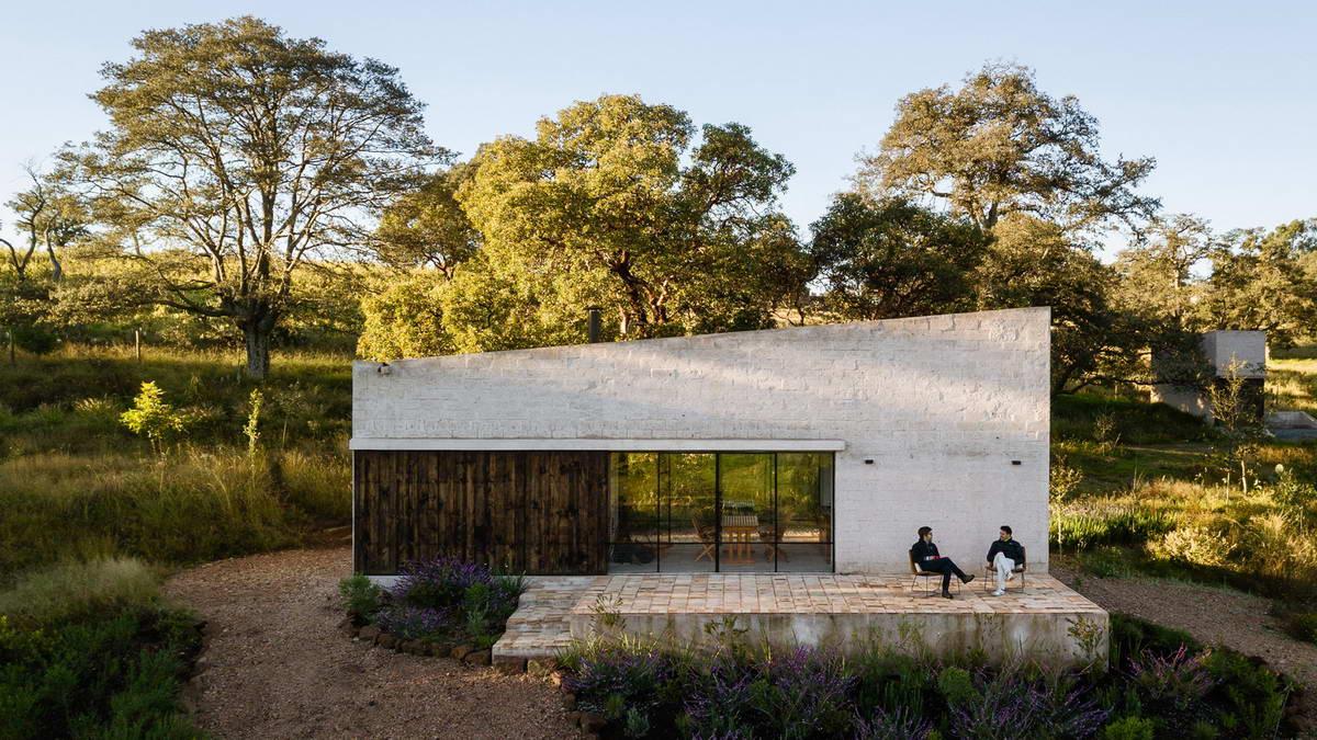 Дом для отдыха на лоне природы в Мексике