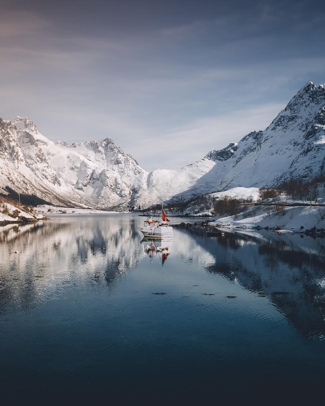 Природа и горные пейзажи от Филиппа Гоу