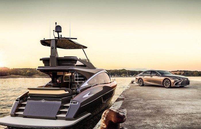 Роскошные яхты, дизайн которых списан с автомобилей