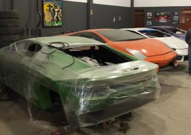 В Бразилии обнаружили фабрику по производству поддельных Ferrari и Lamborghini