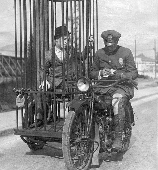 Работа полиции США в начале XX века на снимках