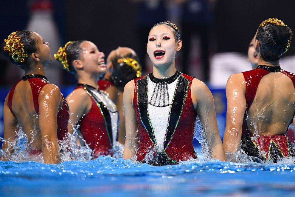 Акватика-2019: красивые фотографии с соревнований