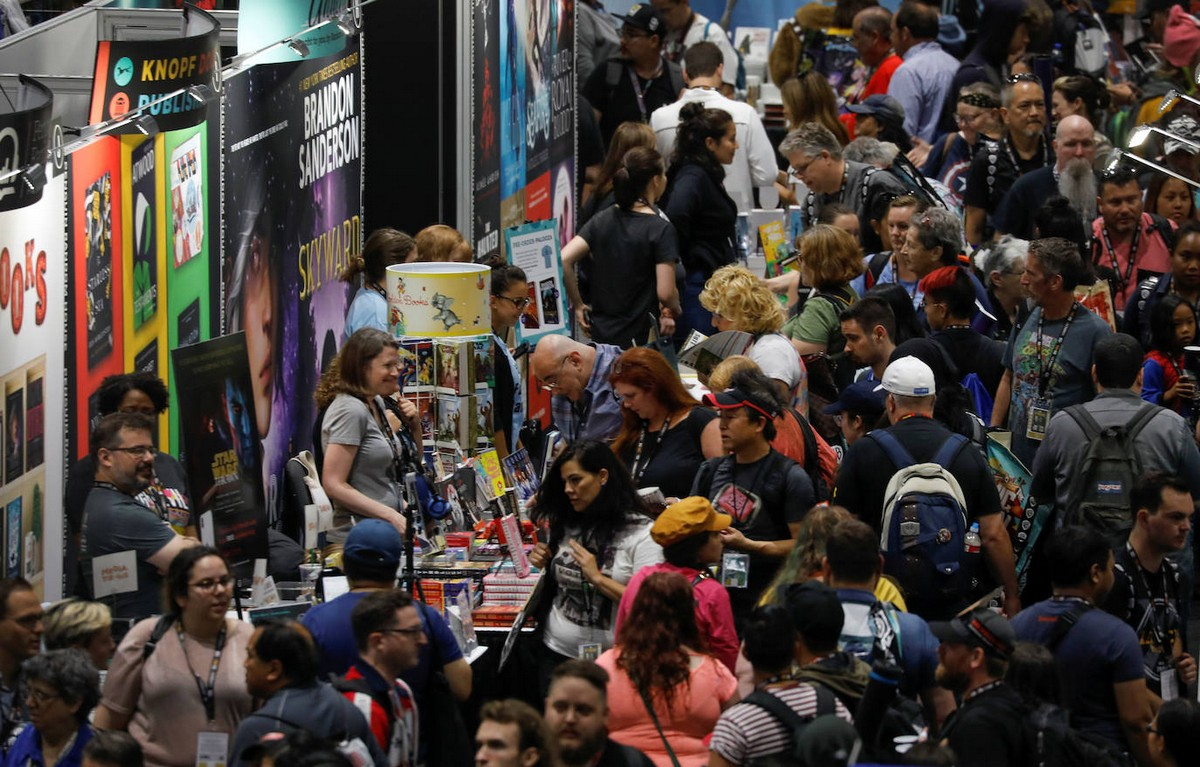 Фестиваль Comic-Con International 2019 в Сан-Диего