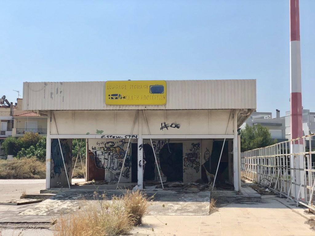 Заброшенный аэропорт в Греции когда-то принимал 12 миллионов пассажиров в год