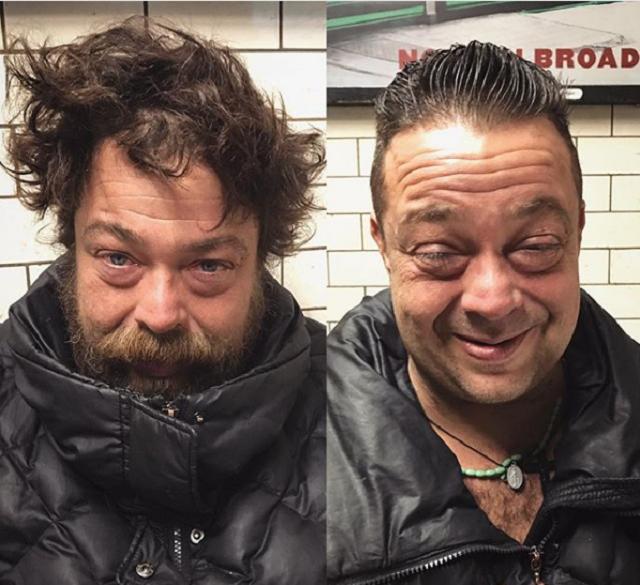 Барбер из Англии бесплатно стрижет бездомных и мотивирует их на новую жизнь
