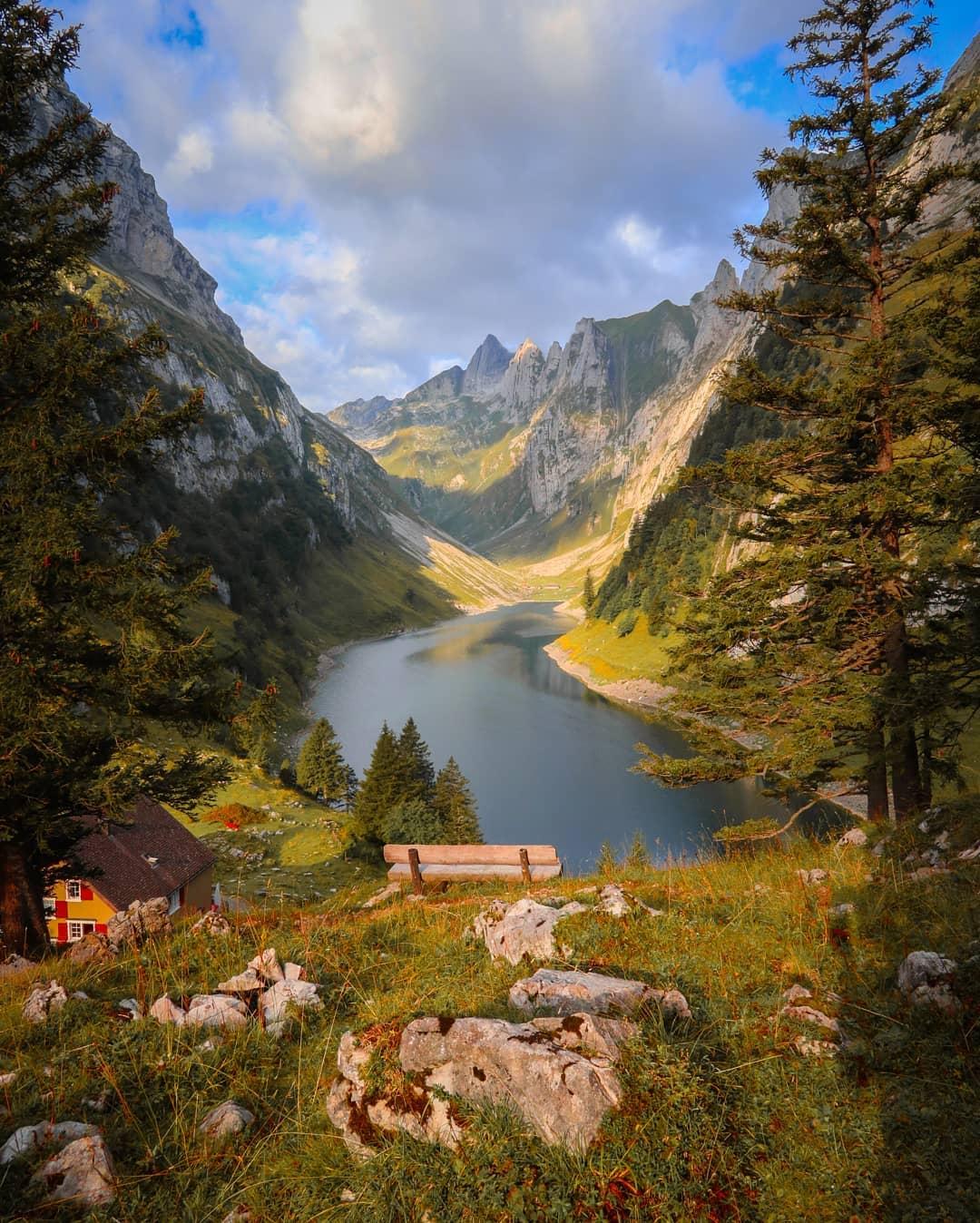 Волшебная природа Швейцарии на снимках Sinhue Boksberger