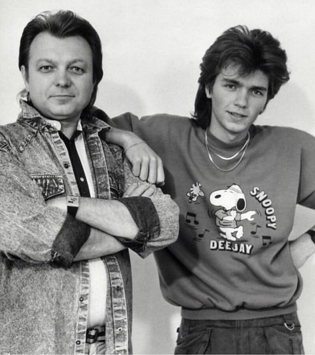 Российские знаменитости в 1990-е годы