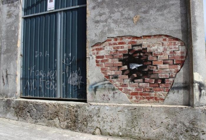 Искусство испанского уличного художника Pejac