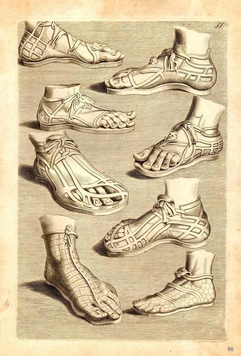 Какой была модная римская обувь 2000 лет назад