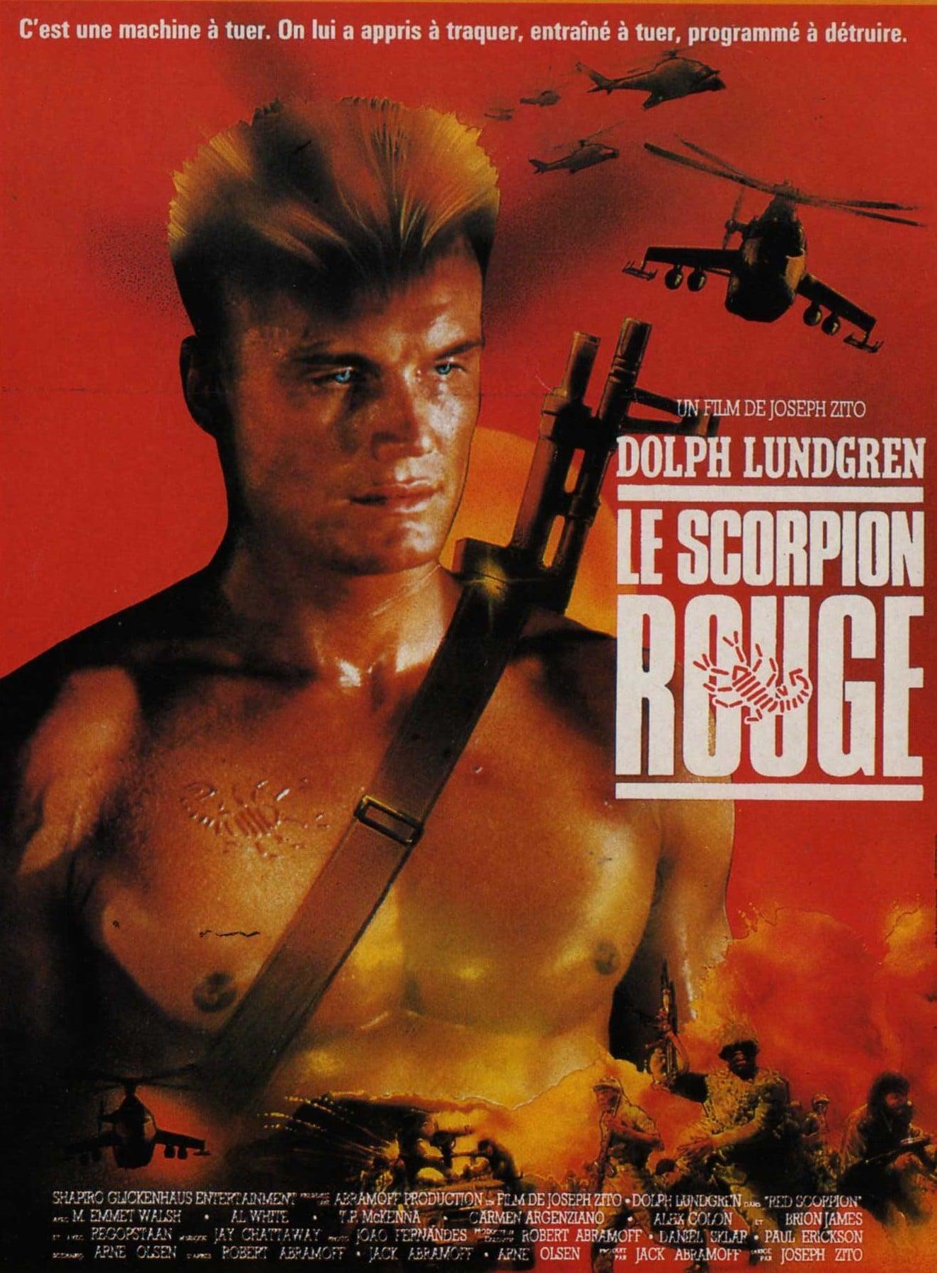 Плакаты с героями боевиков 80-х - 90-х годов