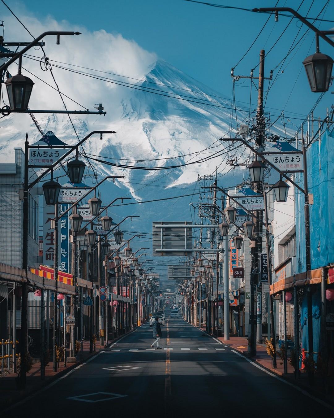 Уличные снимки Японии от Пэта Кея