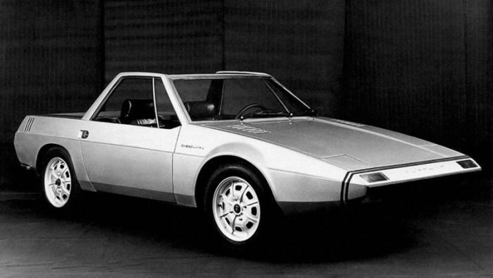 Концепт-кар VW Karmann Cheetah 1971 года