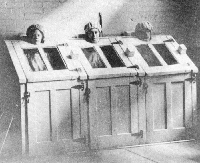 Старые снимки из психиатрических учреждений
