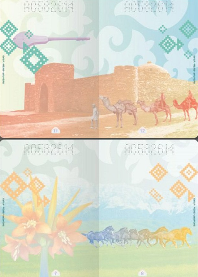 Стильные дизайнерские паспорта разных стран мира