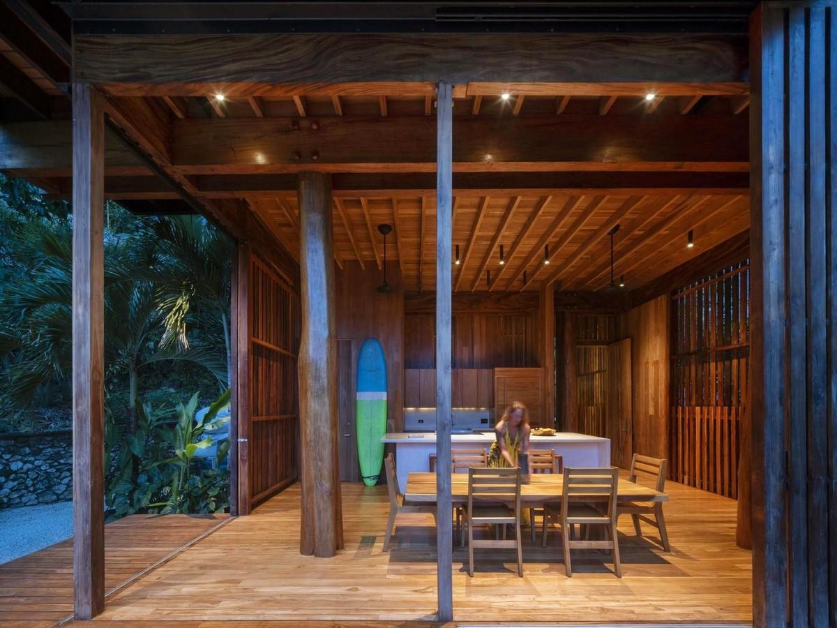Частный дом в тропических джунглях Коста-Рики