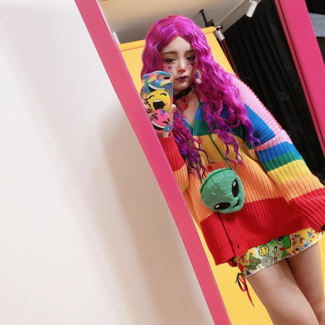 Необычная яркая мода из Японии