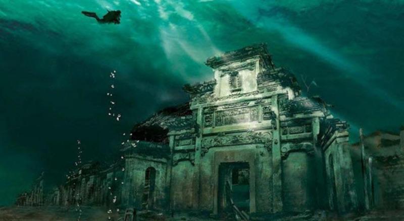 Заброшенные поселения, которые находятся под водой